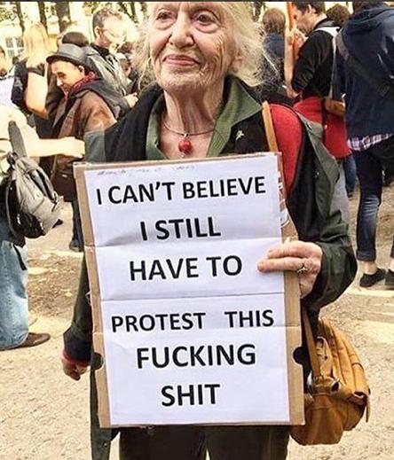 protestation USA
