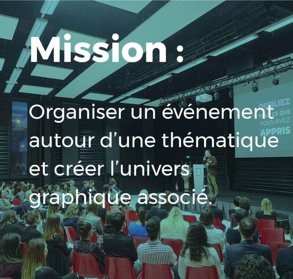 mission afterwork - organiser un événement autour d'une thématique