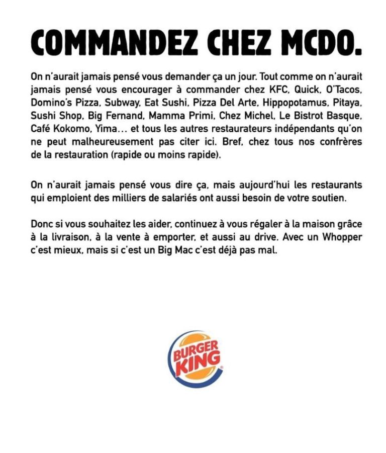 Campagne Burger King