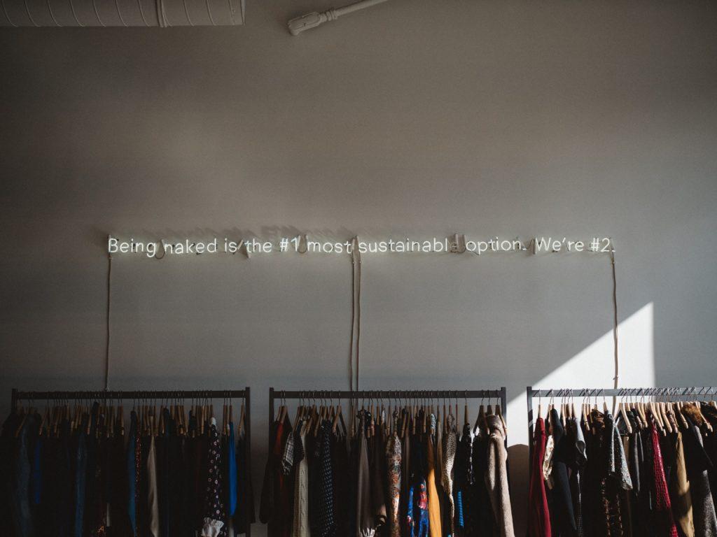 Rayon de vêtements