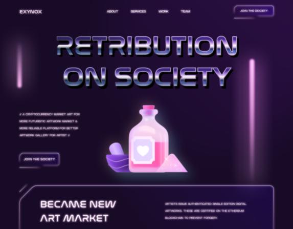 retribution on society