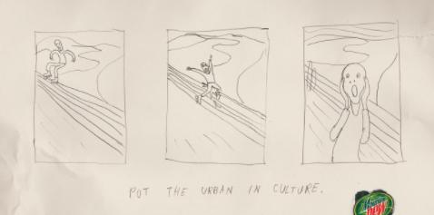 put the urban in the culture